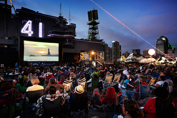 2013 Free Summer Movies in San Diego. #sandiego #guide #travel #free