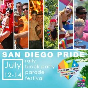 What to do this weekend in San Diego from The Wanderer Guides Blog. #pridesandiego #sandiego #pride